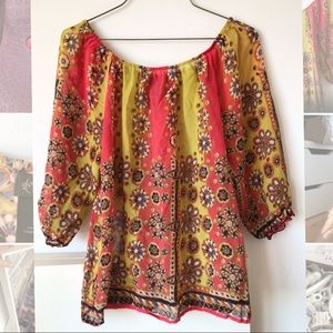 Anthropologie Fei peasant blouse, S/P
